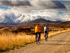 van de gebaande paden fietsen Nieuw-Zeeland