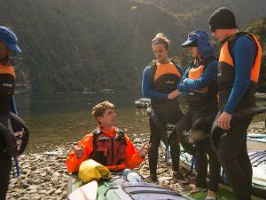 Doubtful Sound kajakken in Nieuw-Zeeland