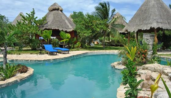 holbox eiland zwembad mexico