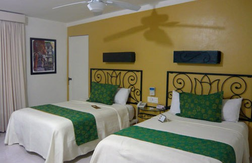 palenque hotelkamer mexico