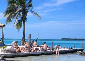 Belize rondreizen Caye Caulker