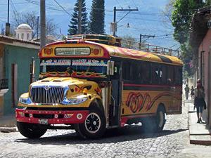bus guatemala panajachel an