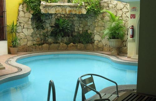 campeche zwembad mexico