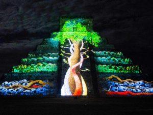 Chichen Itza Mexico lichtshow