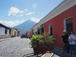 guatemala reis per bus - antigua