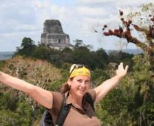 Tikal tempel trail