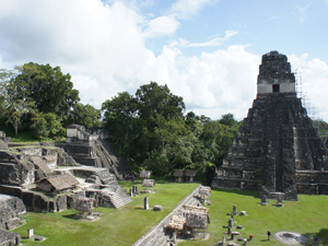 guatemala reis tikaltempels