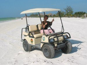 holbox eiland vervoer