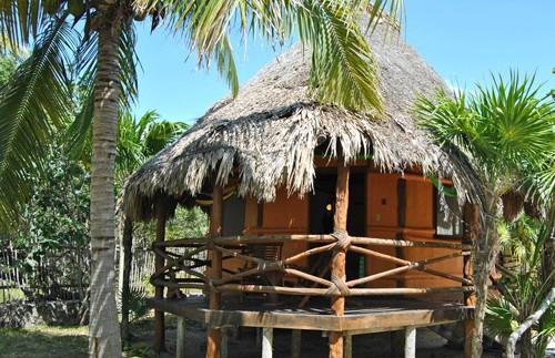 holbox eiland cabana mexico