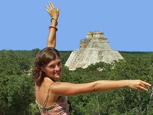 maya tempel uxmal mexico rondreis
