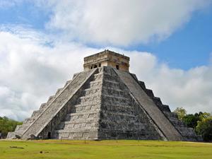 maya ruine chichen itza mexico
