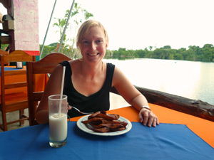 lunch bacalar mexico