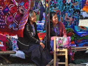 textiel markt zinacantan mexico