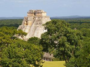 maya stad uxmal mexico