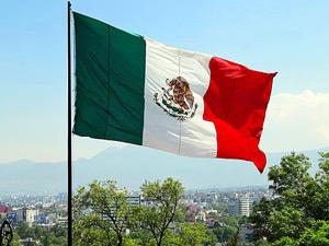 mexico reis vlag