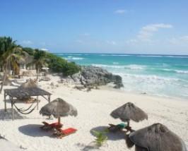 Tulum strand Mexico rondreis