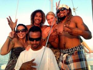Rustig aan op het reggae eiland