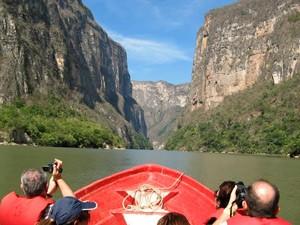 boottocht sumidero canyon mexico