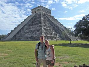 mexico chichen itza ruines