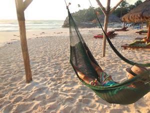 playa del carmen hangmat mexico
