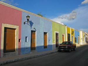 reis mexico kleuren merida