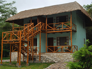 ecolodge accommodatie chicanna mexico