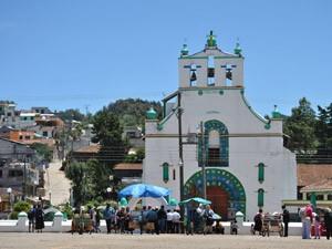 reizen mexico san cristobal kerk