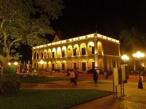 rondreis mexico campeche bibliotheek