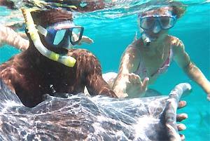 Belize Caye Caulker - Snorkelen
