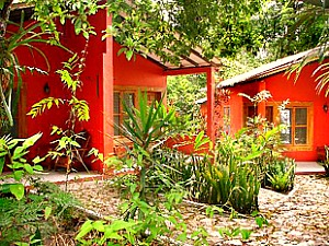 Tikal jungle lodge