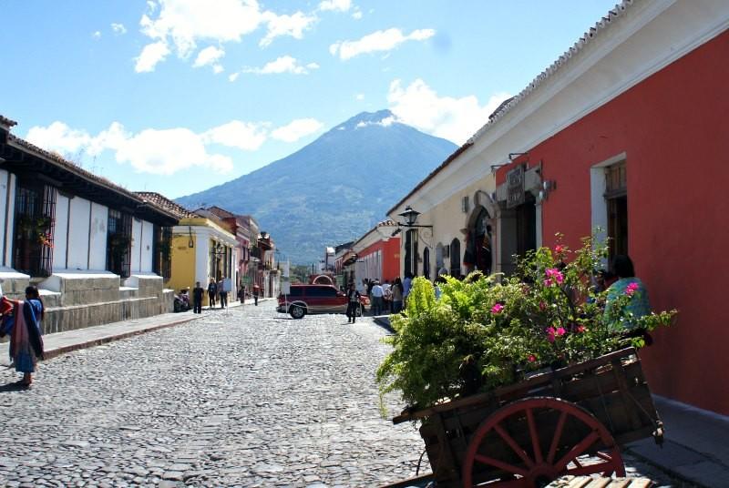 Mexico vakantie Guatemala Antigua