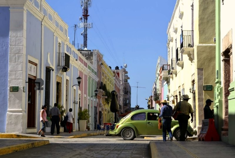 Campeche vakantie Mexico