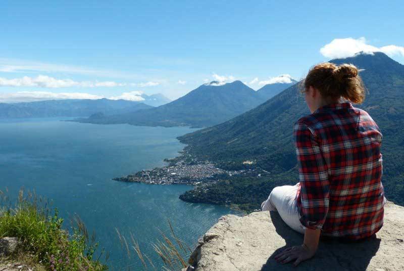 Guatemala reizen uitzicht