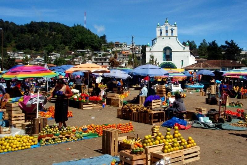 Markt - Mexico vakantie