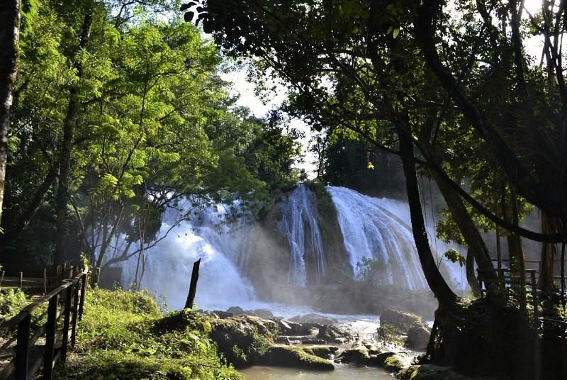 Mexico reizen - waterval