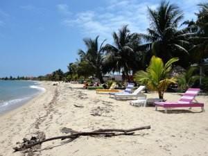 Rondreis Guatemala Belize - strand