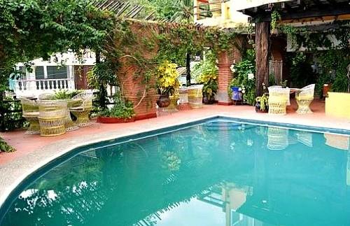 zwembad hotel Mexico
