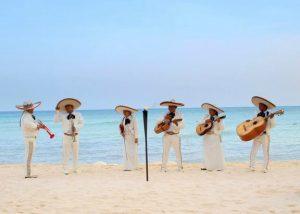 Mariachi strand - muziek