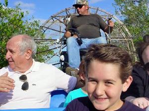 Tour durch die Everglades mit dem Airboat