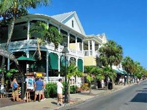 "Key Wests ""Hauptstraße"" Duvall Street"
