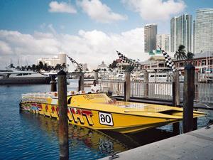 Speedboottour durch Miami
