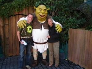 Lassen Sie sich mit Shrek fotografieren