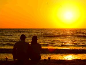 Sonnenunterang auf den Upper Keys