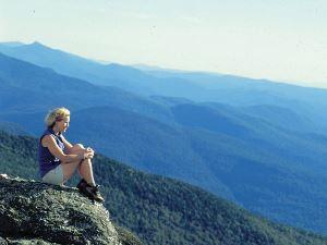 Ausblick über die Grünen Berge