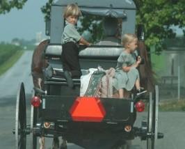 Mit der Kutsche unterwegs