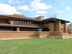 Das Haus von Frank Lloyd Wright