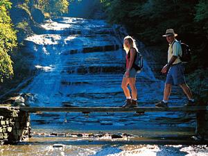Wanderung im State Park