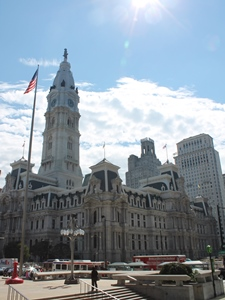 Die City Hall von Philadelphia
