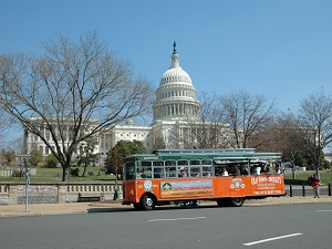 Trolley-Tour in Washington
