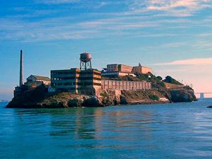 Alcatraz vor der Küste von San Francisco